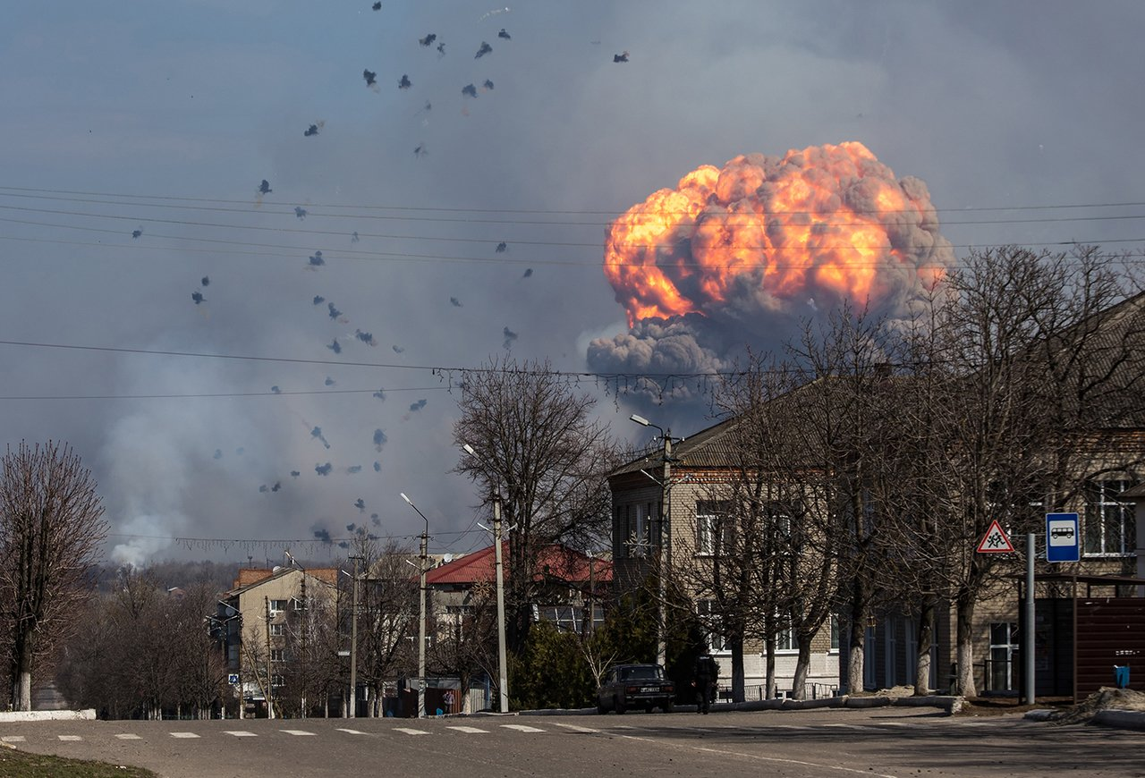 Arms Warehouse in Balakliya Blew Up Again. This Time It's Political