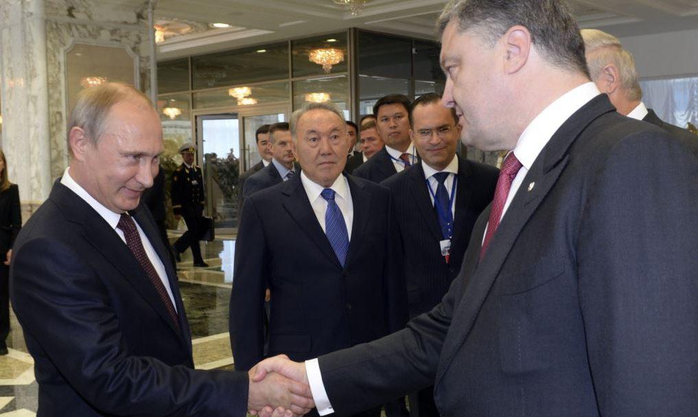 Телефонна розмова Президента України П.О.Порошенка з Президентом РФ В.В.Путіним (30 квітня 2015 року)